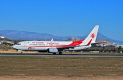 Air Algerie At Alicante Airport Stock Images