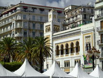 Algerian islamic architecture stock images
