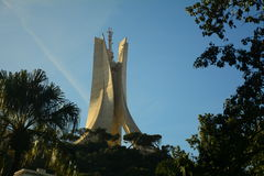 Algerias Monument. Martyr monument in Algiers, Algeria Photo from 2013 Stock Photo