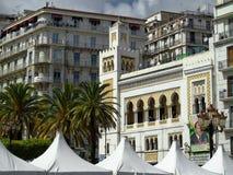 Algerijnse Islamitische architectuur Stock Afbeeldingen