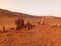 Algerische Wüste Lizenzfreie Stockbilder