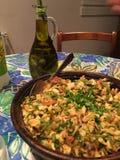 Algerisk maträtt Arkivbilder