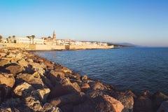 alghero意大利撒丁岛 免版税库存照片