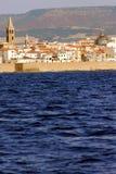 alghero撒丁岛 库存图片