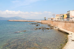 Alghero. Stock Photo