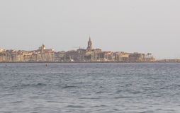 Alghero. View of Alghero, Sardinia, Italy royalty free stock images