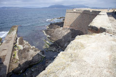 Alghero bastions Royalty Free Stock Photo