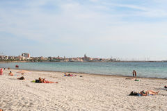 Alghero Beach. Stock Images