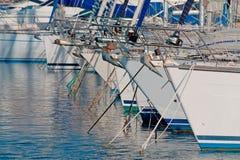Alghero boats Stock Image