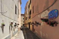 Alghero, Cerdeña, Italia fotografía de archivo libre de regalías