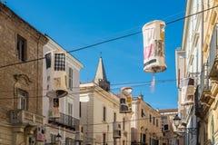 Alghero city in Sardinia, Italy. Alghero city in Sassari Province, Sardinia, Italy stock images