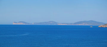 Alghero coastline panorama -Sardinia, Italy Stock Photos