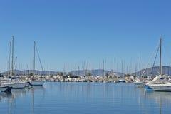 Alghero dock Stock Image