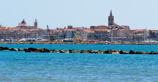 Alghero harbor Stock Photography