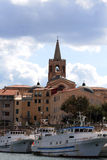 Alghero Harbor Royalty Free Stock Images