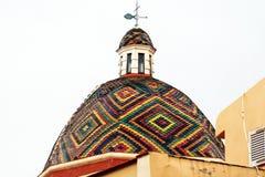 Alghero kupol Arkivfoto