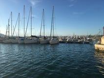 Alghero marina Royaltyfria Bilder