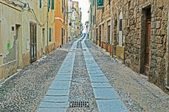 Free Alghero Old Road Royalty Free Stock Images - 40651159