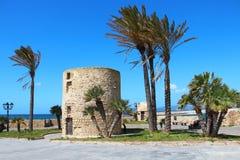 Alghero old town, Sardinia, Italy Royalty Free Stock Photography