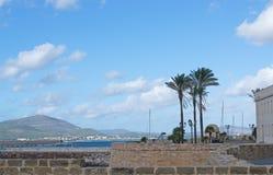 Alghero promenade Stock Photo