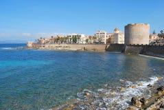Alghero, Sardaigne - Italie Images libres de droits