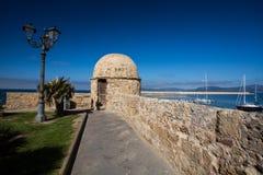 Alghero Sardinia Fotografering för Bildbyråer