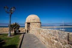 Alghero Sardinia Arkivbild
