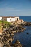 Alghero Sardinia Arkivfoton