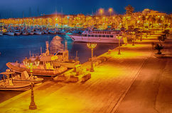 Free Alghero (Sardinia) At Night Stock Photography - 41515542