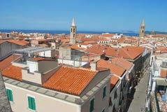 Alghero Sardinia - Italien Royaltyfria Bilder