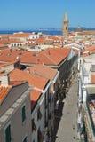 Alghero Sardinia - Italien Arkivbild