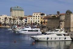 Alghero - Sardinia - Italy stock images