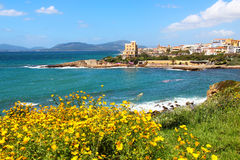 Alghero, Sardinia, Italy Royalty Free Stock Images