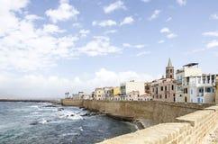 Alghero Sardinige Royalty-vrije Stock Foto