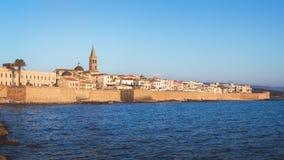 Alghero, Sardinige, Italië Royalty-vrije Stock Foto