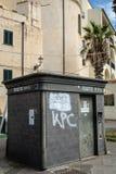 Alghero storico Italia della città di Latern Sardegna giù fotografia stock libera da diritti