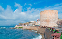 Alghero wind Royalty Free Stock Image