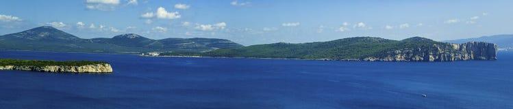 algheroconte porto Royaltyfria Bilder