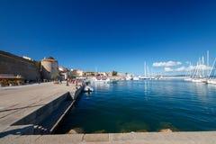 Algherohaven, Italië royalty-vrije stock foto