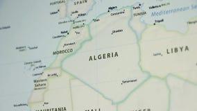 Algieria na mapie z Defocus