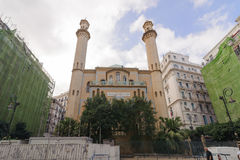 ALGIERS, ALGERIA - SEP 24, 2016: Ibn Badis Mosque of Algiers. Ben Badis founded the Association of Algerian Muslim Ulema, which wa. S a national grouping of many stock image