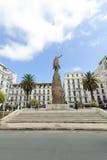 ALGIERS, ALGERIA - SEP 24, 2016: Monument Emir Abdelkader or Abdelkader El Djezairi was Algerian Sharif religious and military lea royalty free stock photo