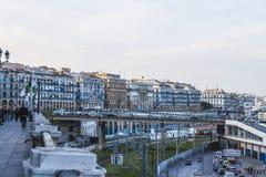 Algiers. The capital of Algeria stock image