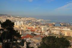 Algiers, capital city of Algeria. Algiers and its port, Algeria royalty free stock images