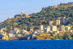 Algiers. An overview of Algiers in Algeria stock image