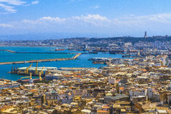 Algiers. An overview of Algiers in Algeria royalty free stock photos