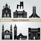Algiers punkty zwrotni Zdjęcia Stock