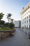 Algiers. Small garden in Algiers the capital city of Algeria stock image