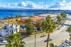 Algiers. View of Algiers the capital of Algeria royalty free stock images