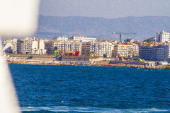 Algiers. View of Algiers, the capital city of Algeria royalty free stock photos